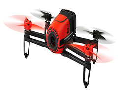 Parrot-Bebop-Quadcopter-Drone-Red